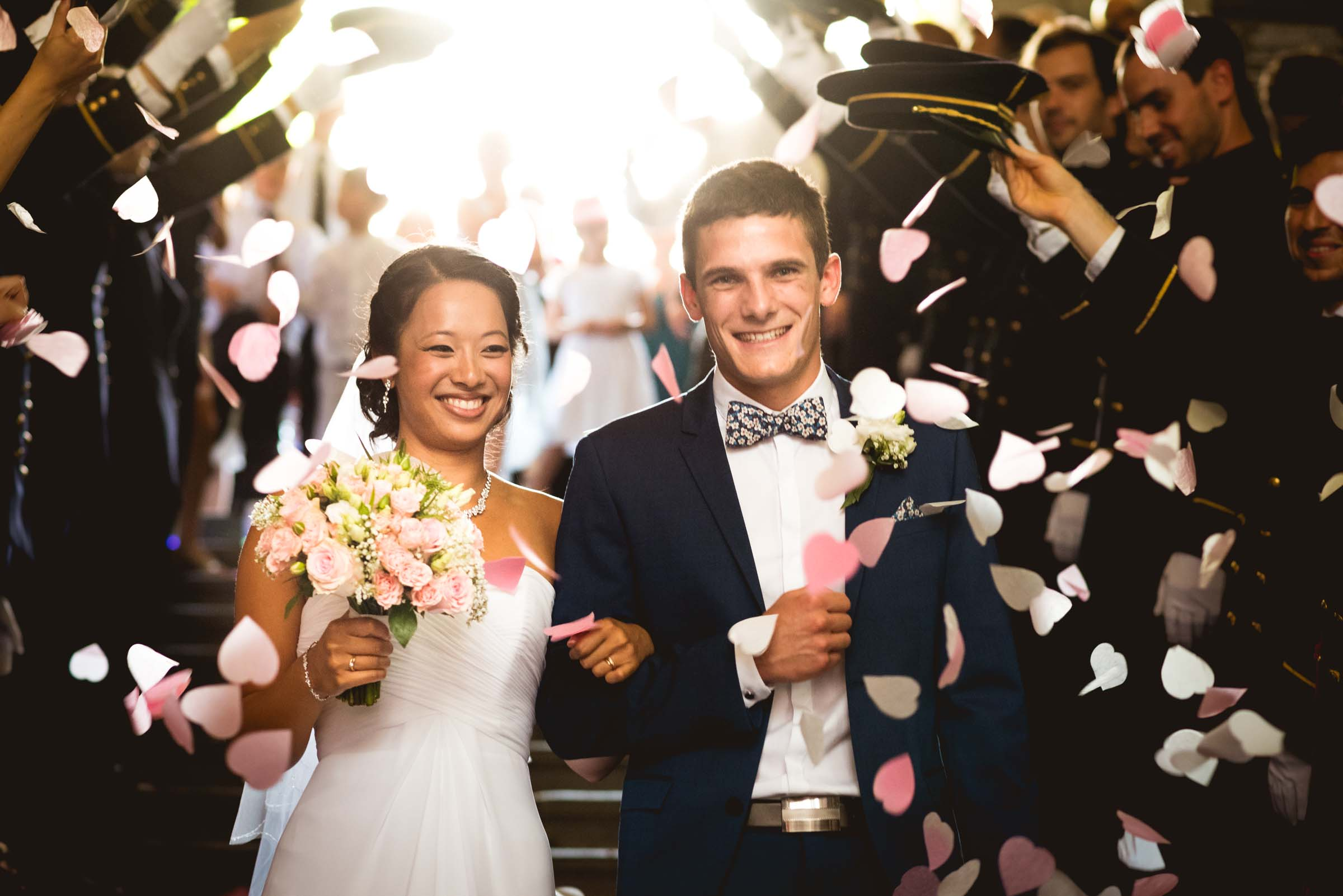 Photographe mariage bonheur
